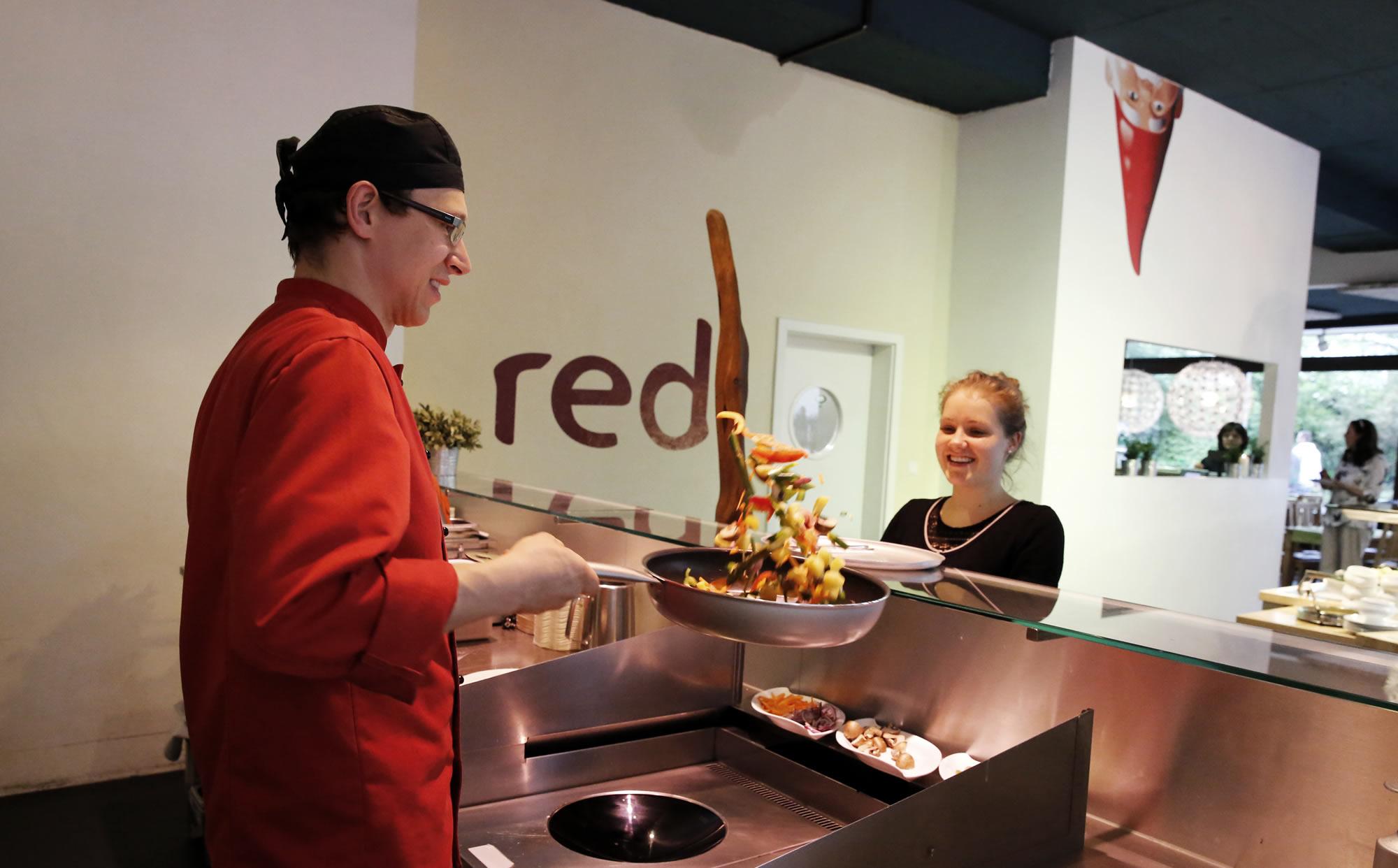 restaurant -red – die grüne küche | das vegetarische und vegane