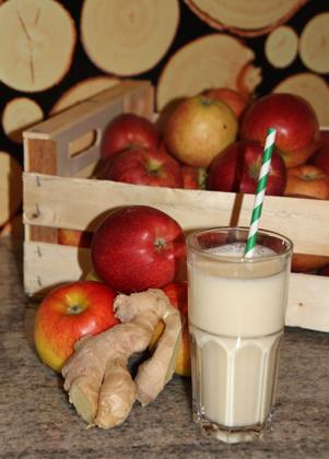 Apfel-Ingwer Lassi